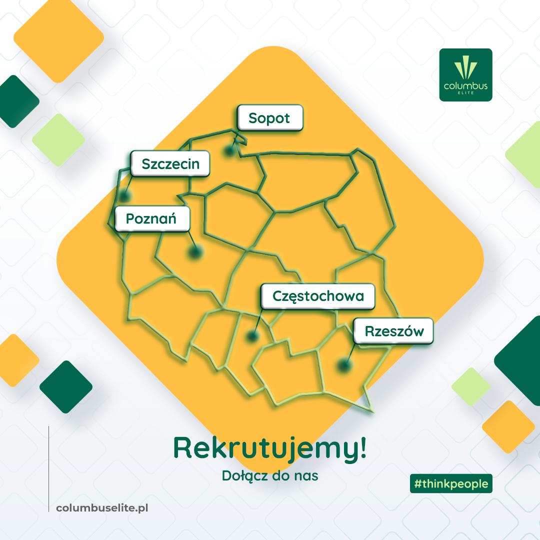 Szukasz pracy? Prowadzimy rekrutacje na terenie całej Polski!